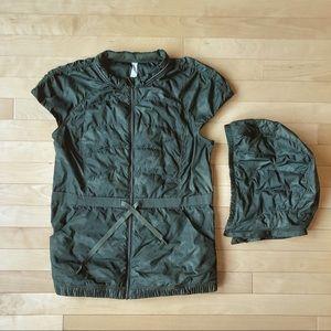 Lululemon Spring Fling Vest (Green Camo)